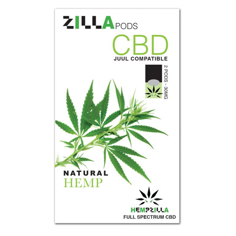 Zilla Pods CBD Juul Compatible Pods - Natural