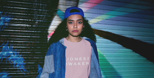 Lioness Awaken Collection Classic Bold Sweatshirt Pink