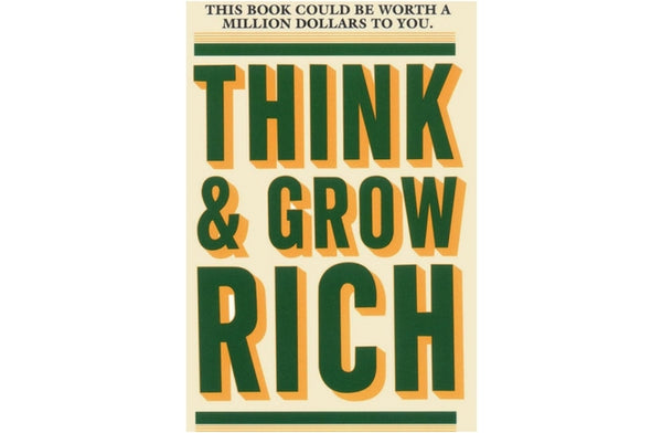 Think and Grow Rich Book Napoleon Hill