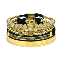 Vintage 4 Brazaletes Luxury Royal