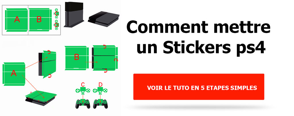 Comment Mettre Un Stickers Ps4