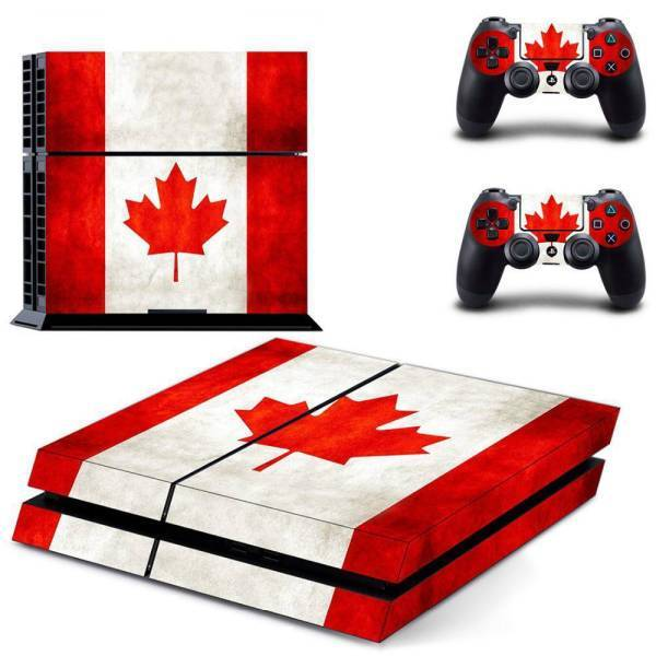 Stickers Ps4 <br> Canada