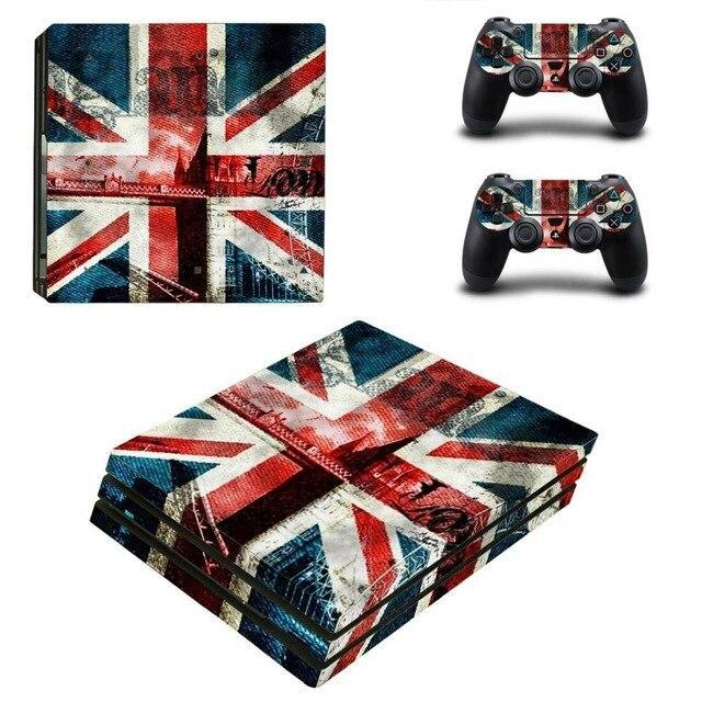 Stickers Ps4 Pro Angleterre