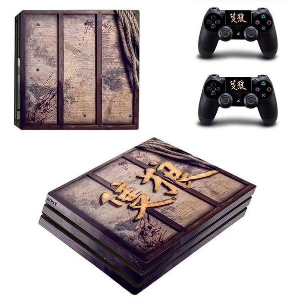 Stickers Ps4 Pro Japonais