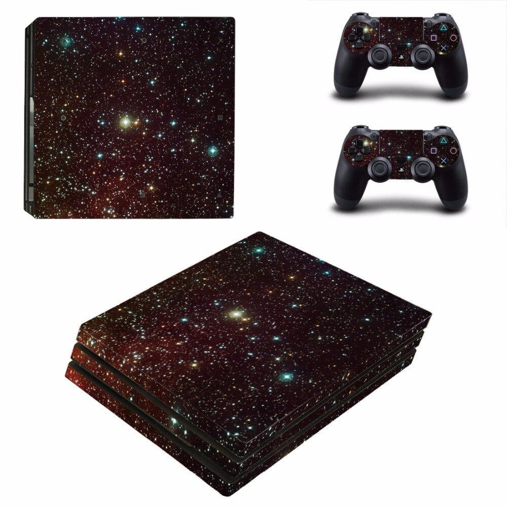 Stickers Ps4 Pro Univers étoilés