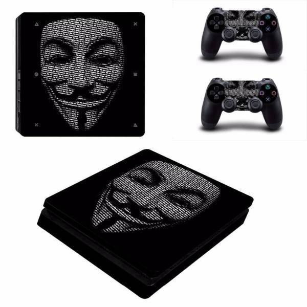 Stickers Ps4 Slim <br> Anonymous
