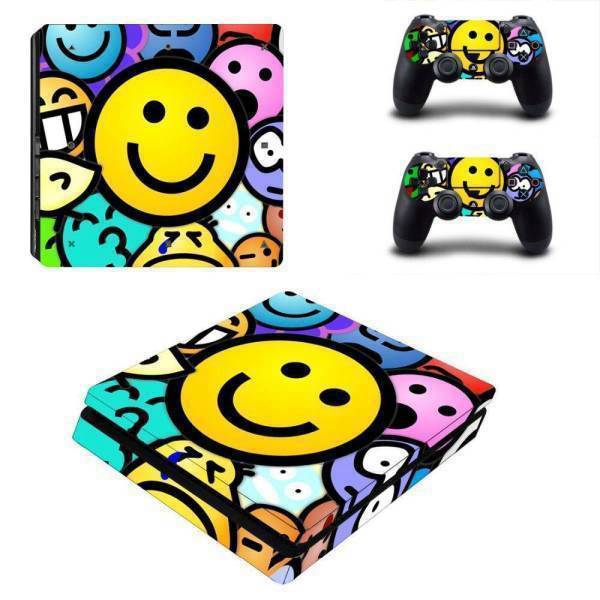 Stickers Ps4 Slim <br> Emoji