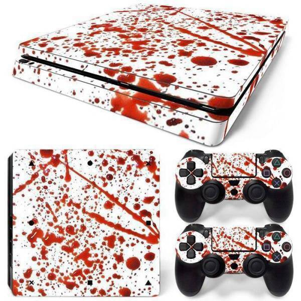 Stickers Ps4 Slim <br> Ensanglanté