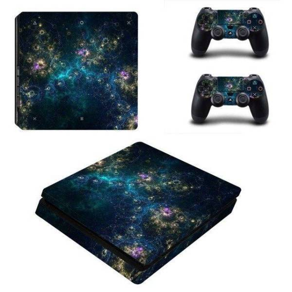 Stickers Ps4 Slim Galaxie Mystique