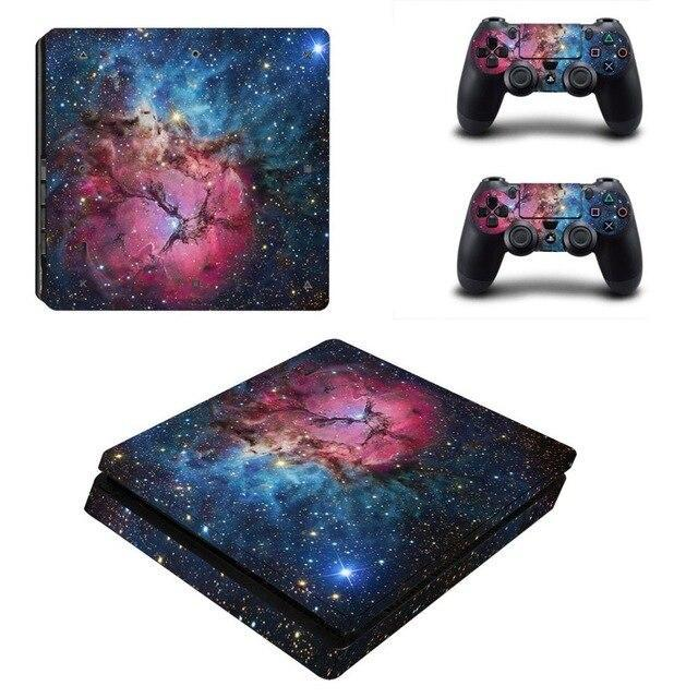 Stickers Ps4 Slim Galaxie Nébuleuse