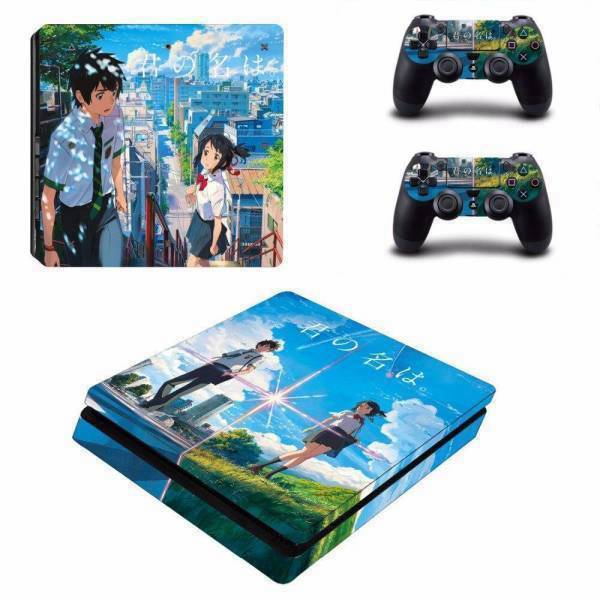 Stickers Ps4 Slim <br> Manga Japonais
