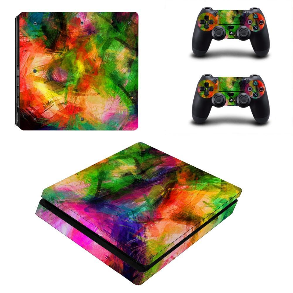 Stickers Ps4 Slim Multicolore