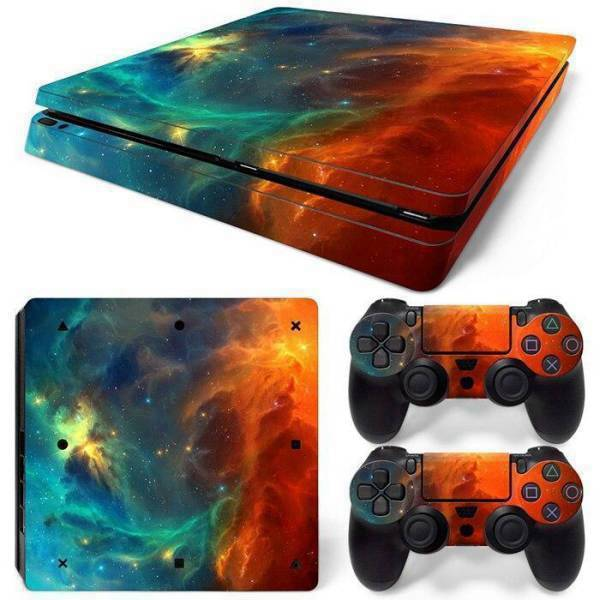 Stickers Ps4 Slim <br> Nébuleuse