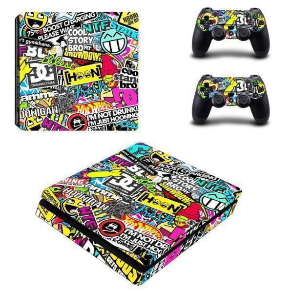 Stickers Ps4 Slim <br> Pop Culture
