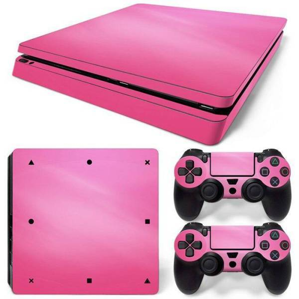 Stickers Ps4 Slim Rose