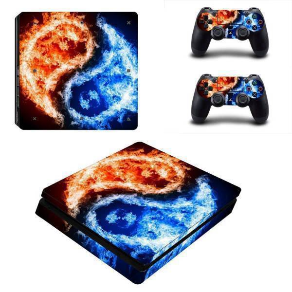 Stickers Ps4 Slim <br> Yin Yang