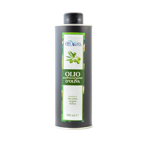 Extra virgin olive oil in can