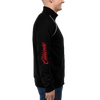 RETRO BOMBER XOLOS CALIENTE - PIPED FLEECE JACKET