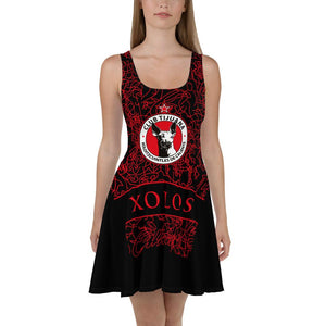 XOLOS CLUB TIJUANA -Skater Dress