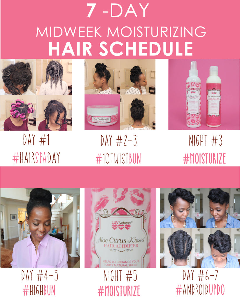Fall 2018 Hair Schedule