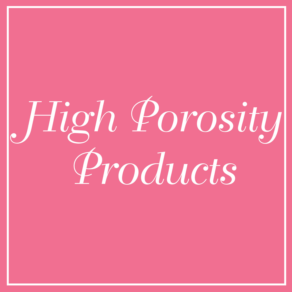 Products for High Porosity Hair