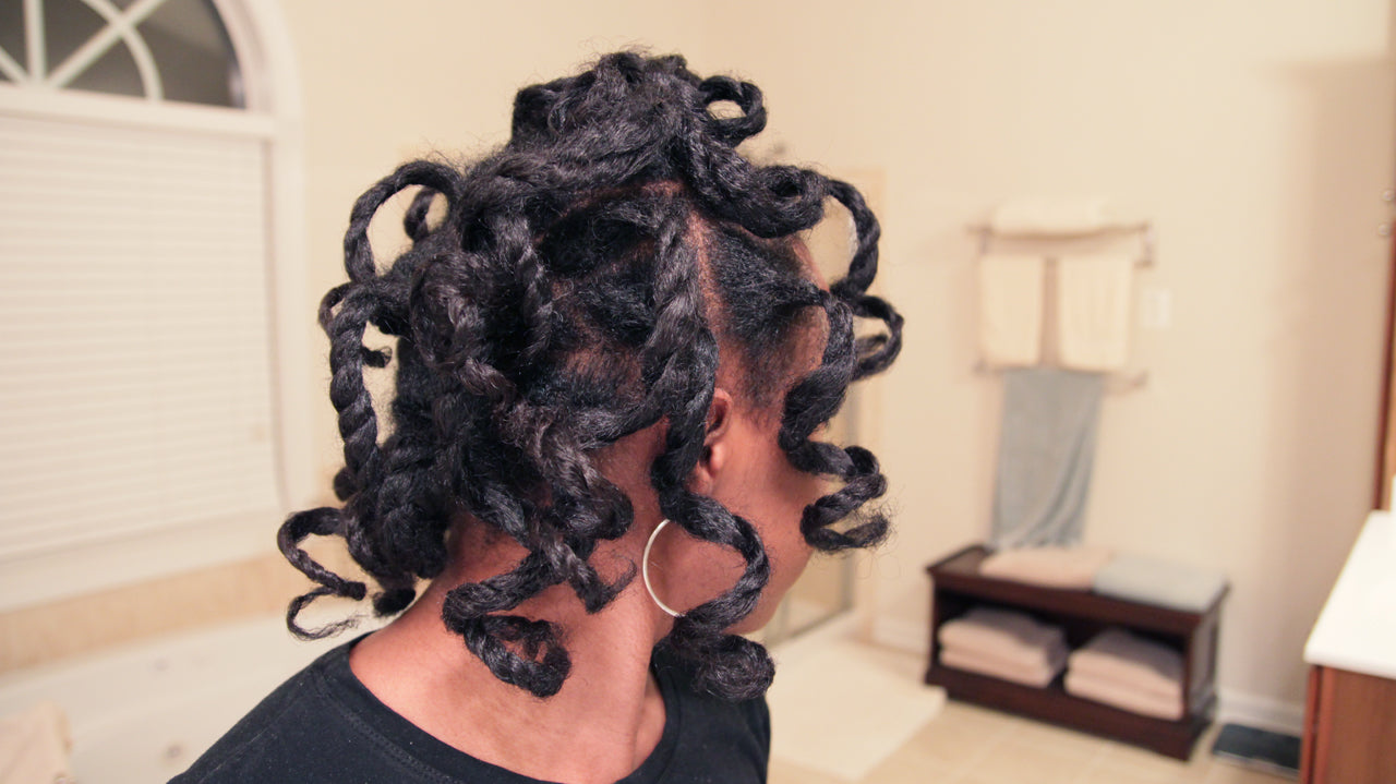How To Stretch Your Natural Hair Luv Naturals