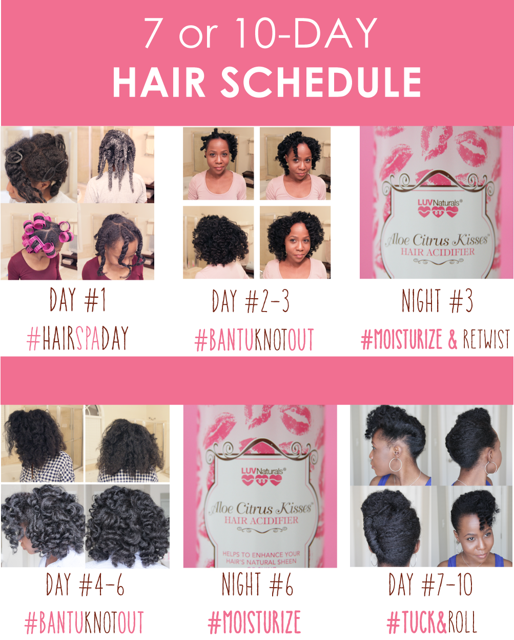 New Hair Schedule For Maintainers Luv Naturals