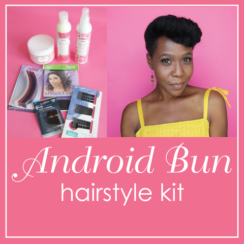 """Android Bun"" Hairstyle Kit"