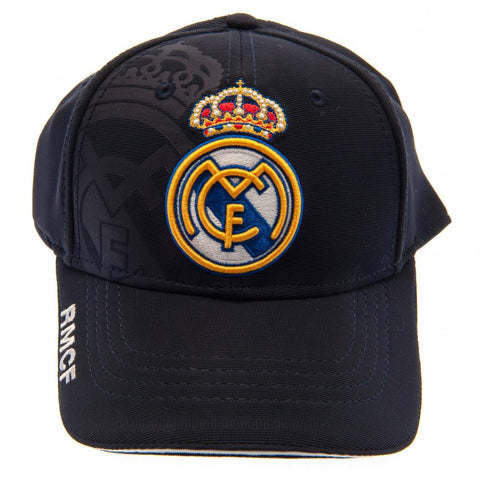 279c1d6bbd1fc Real Madrid F.C. Cap Prestige Black – Football Gorilla
