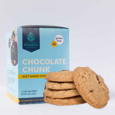 CHOCOLATE CHUNK COOKIE (box of 5 large cookies)