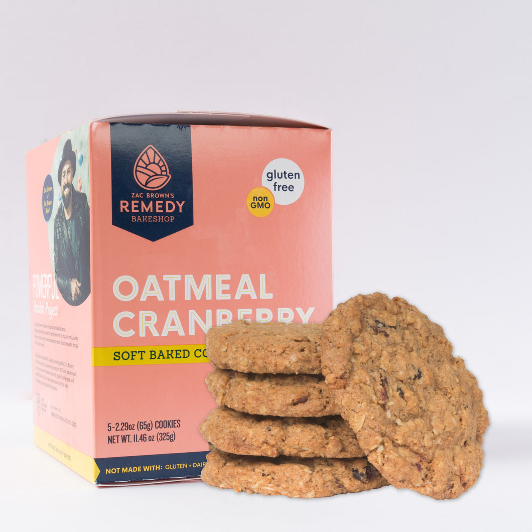 OATMEAL CRANBERRY COOKIE (box of 5 large cookies)