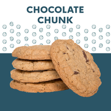 Load image into Gallery viewer, CHOCOLATE CHUNK COOKIE (box of 5 large cookies)