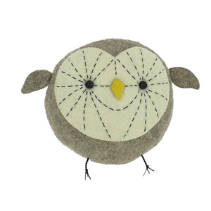 Fiona Walker England Mini Owl Head from Cotton and Cuddles