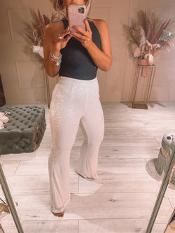 Rosie sequin trousers