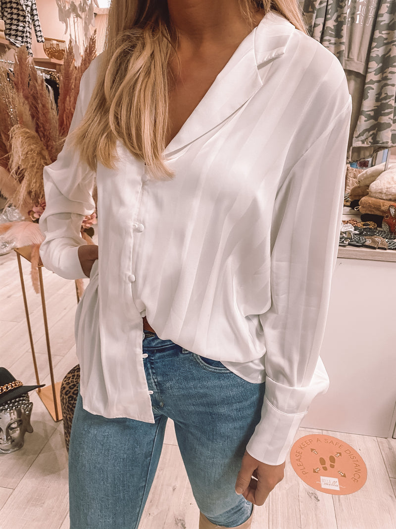 Bronte blouse in white