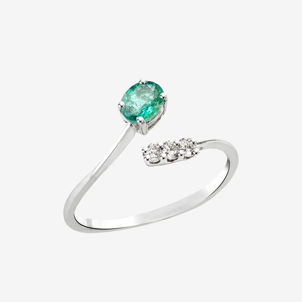 Inel Twisted Emerald !!-40%!!