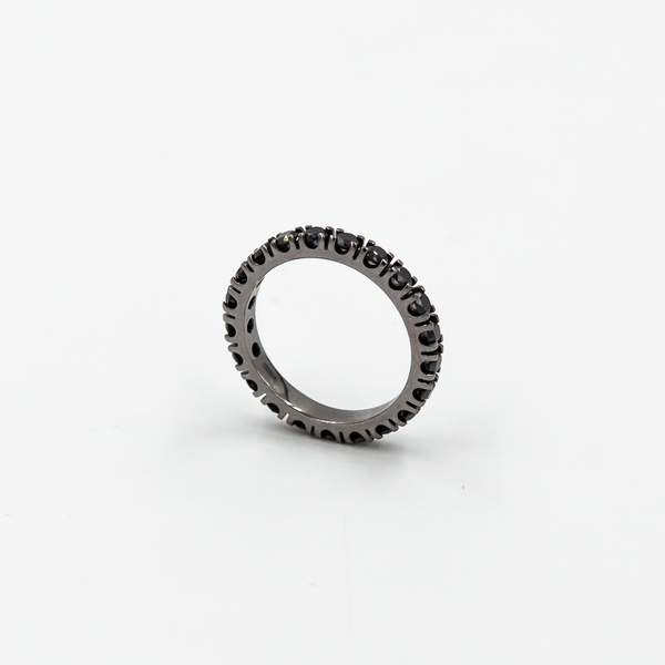Inel Black On Black Eternity 2.6 ct