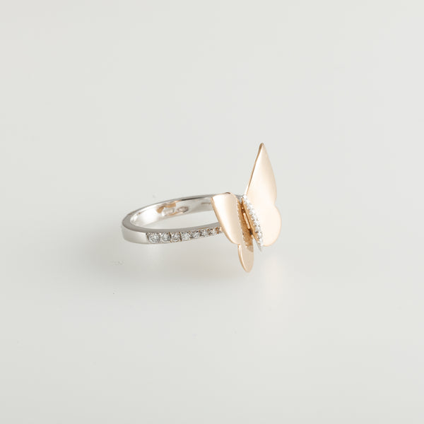 Gold Farfala Ring