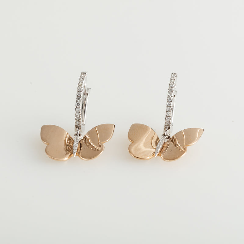 Gold Farfala Earrings