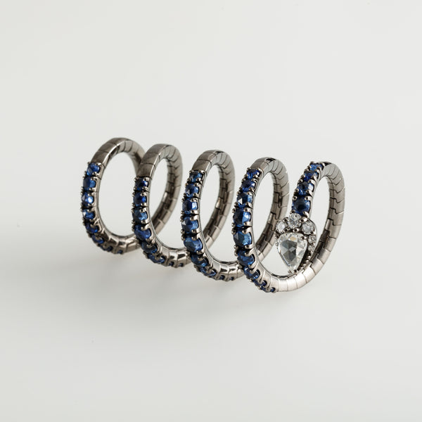 Serpenti Spiral Ring