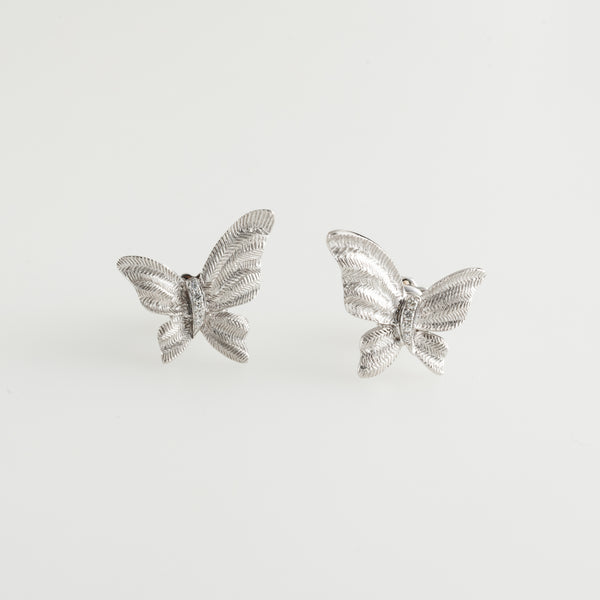 Cercei Textured Butterfly Diamonds