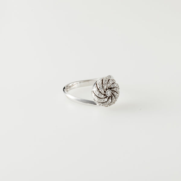 Sasha White Gold Ring