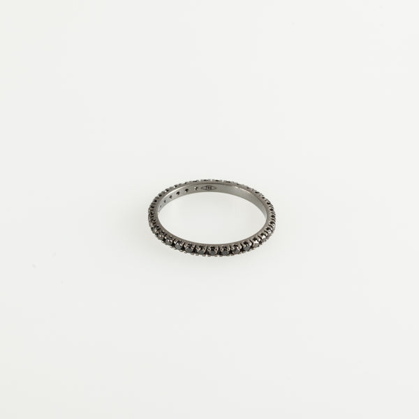 Black on Black Eternity Ring 0,39ct