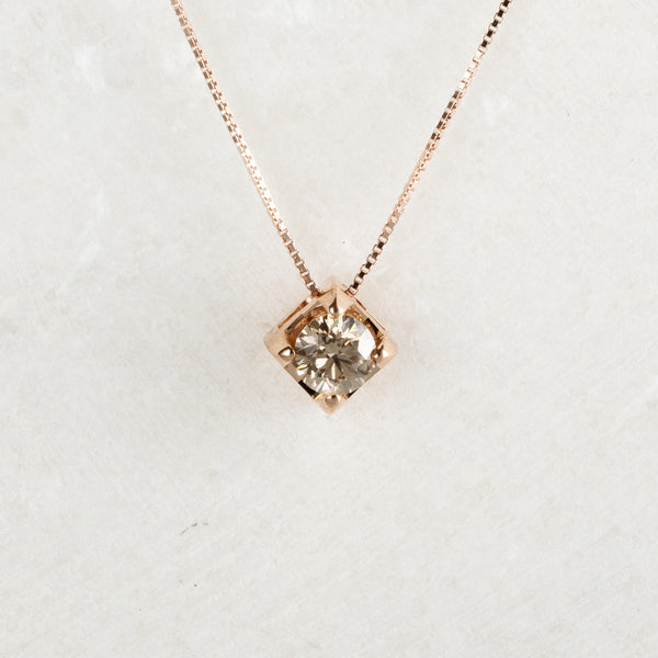 Colier Solitaire Diamond