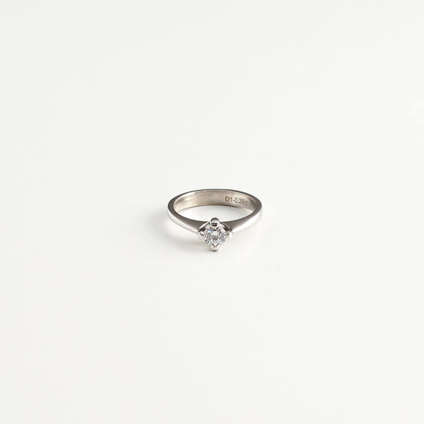 Camber Engagement Ring