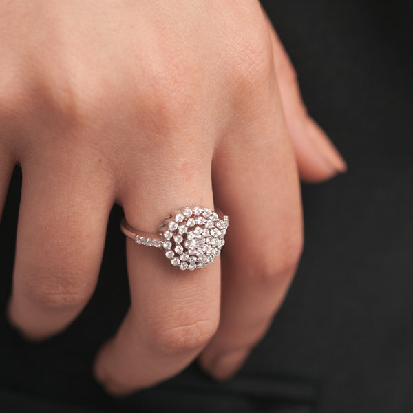 Peony Diamonds Ring
