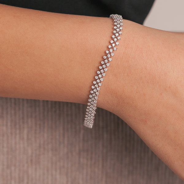 Eternity Diamonds Bracelet