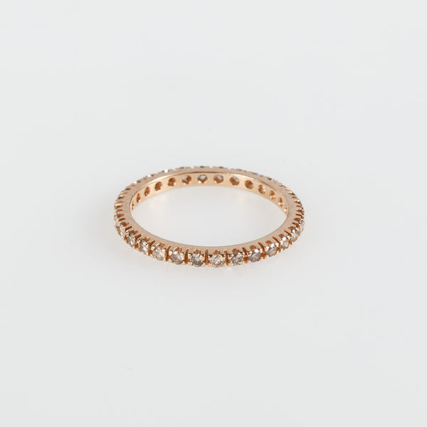 Brown Eternity Wedding Ring