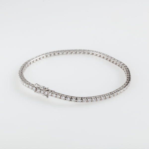 Classic Diamonds Tennis Bracelet 2,40ct