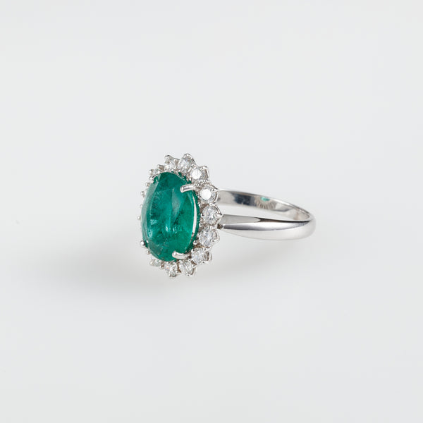 Emerald Sparkle Ring